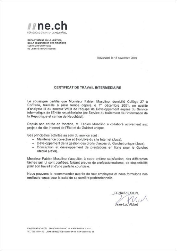 Exemple certificat de travail suisse gratuit document online - Vente internet suisse ...